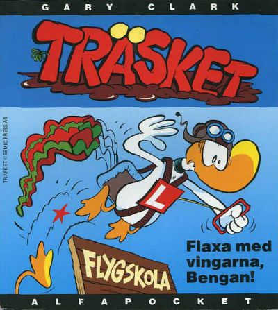 Cover for Alfa-pocket (Semic, 1993 series) #1994, Träsket