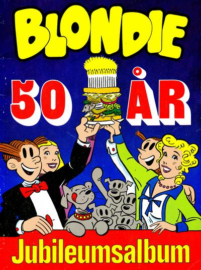 Cover for Blondie 50 r - Jubileumsalbum (1982 series) #[nn]