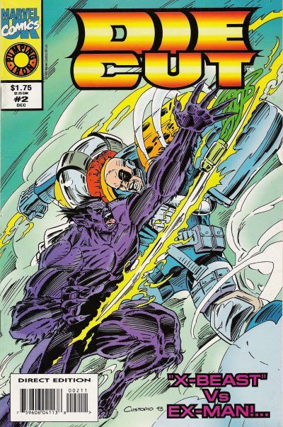 Cover for Die-Cut (Marvel, 1993 series) #2