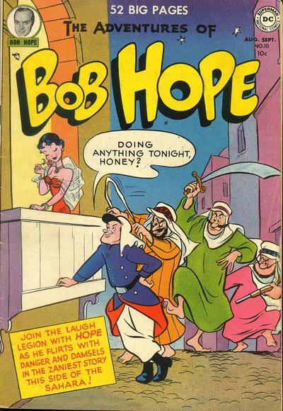 Cover for The Adventures of Bob Hope (DC, 1950 series) #10