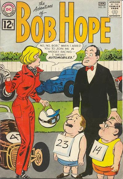 Cover for The Adventures of Bob Hope (DC, 1950 series) #78