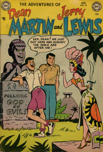 Cover for Adventures of Dean Martin and Jerry Lewis (1952 series) #10
