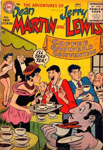 Cover for The Adventures of Dean Martin & Jerry Lewis (DC, 1952 series) #29