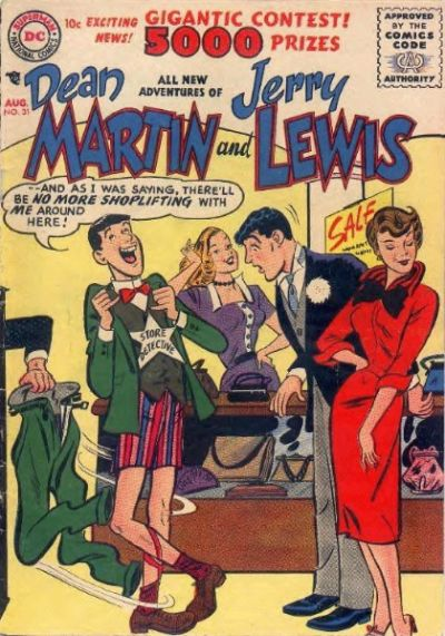Cover for Adventures of Dean Martin and Jerry Lewis (1952 series) #31