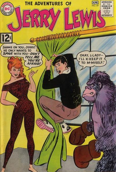 Cover for The Adventures of Jerry Lewis (DC, 1957 series) #69