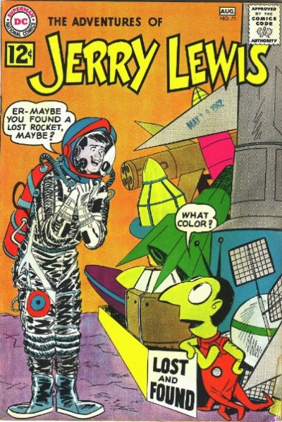 Cover for Adventures of Jerry Lewis (1957 series) #71