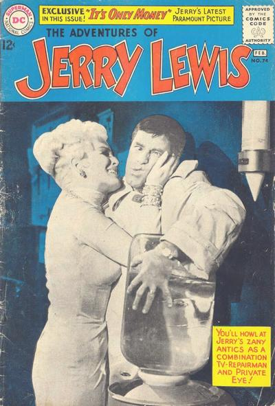 Cover for The Adventures of Jerry Lewis (DC, 1957 series) #74