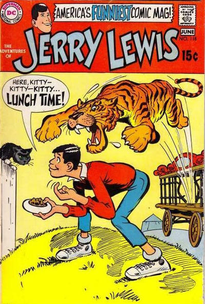 Cover for Adventures of Jerry Lewis (1957 series) #118