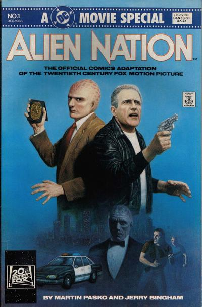 Cover for Alien Nation (DC, 1988 series) #1