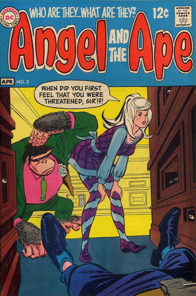 Cover for Angel and the Ape (1968 series) #3