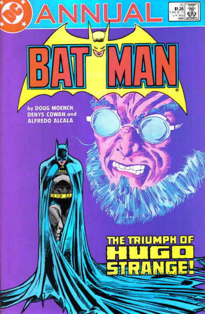 Cover for Batman Annual (DC, 1961 series) #10