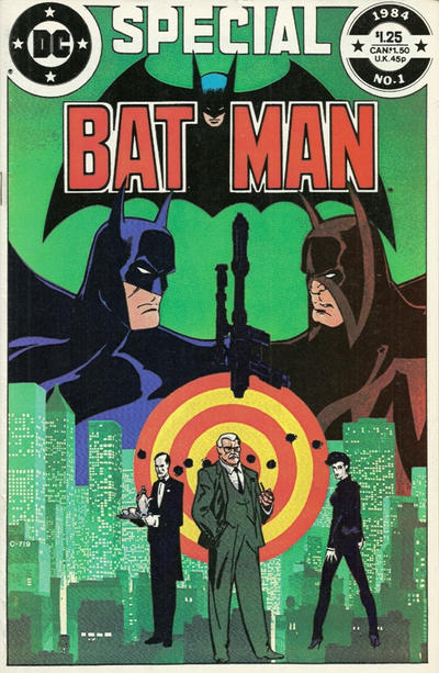 Cover for Batman Special (DC, 1984 series) #1 [direct-sales]