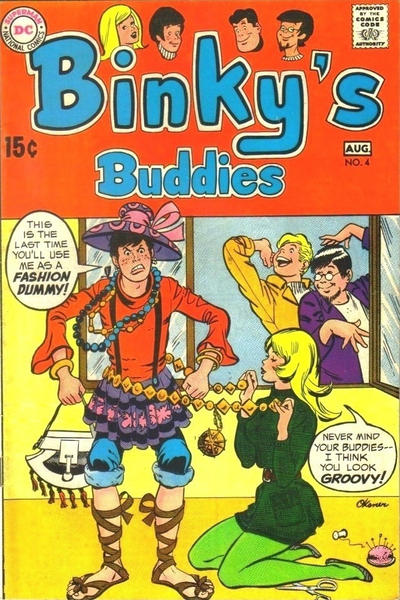Cover for Binky's Buddies (DC, 1969 series) #4