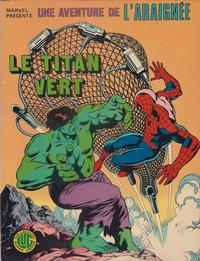 Cover Thumbnail for Une Aventure de l'Araignée (Editions Lug, 1977 series) #6