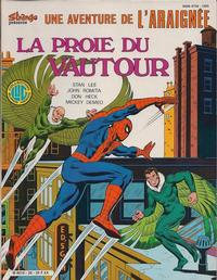 Cover Thumbnail for Une Aventure de l'Araignée (Editions Lug, 1977 series) #28
