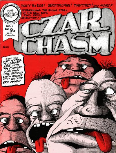 Cover for Czar Chasm (1987 series) #1