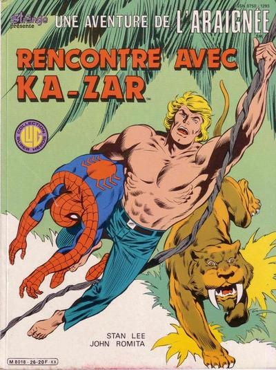 Cover for Une Aventure de l'Araignée (Editions Lug, 1977 series) #26