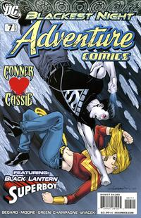 Cover for Adventure Comics (2009 series) #7 / 510 [Regular Direct Cover]