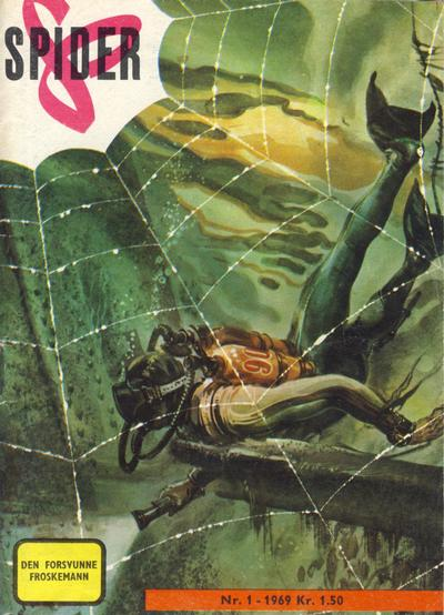 Cover for Spider (1968 series) #1/1969