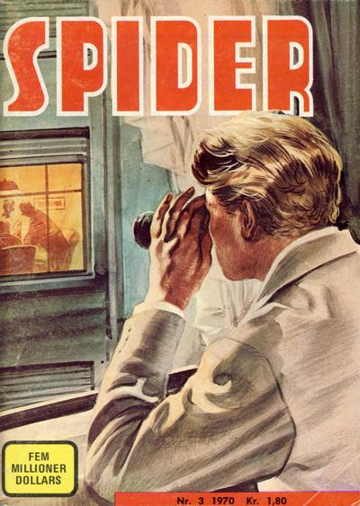 Cover for Spider (1968 series) #3/1970