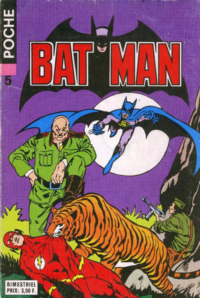 Cover for Batman Poche (Sage - Sagédition, 1976 series) #5