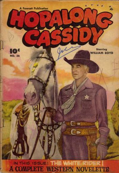 Cover for Hopalong Cassidy (Export Publishing, 1949 series) #36