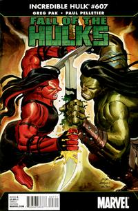 Cover Thumbnail for Incredible Hulk (Marvel, 2009 series) #607 [Direct Edition]