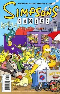 Cover Thumbnail for Simpsons Comics (Bongo, 1993 series) #163