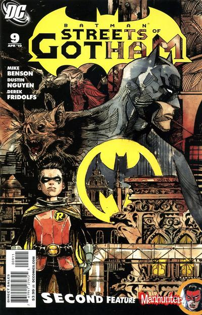 Cover for Batman: Streets of Gotham (DC, 2009 series) #9