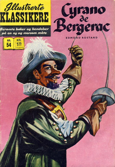 Cover for Illustrerte Klassikere [Classics Illustrated] (Illustrerte Klassikere, 1957 series) #54 - Cyrano de Bergerac