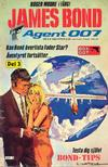 Cover for James Bond (Semic, 1965 series) #8/1982