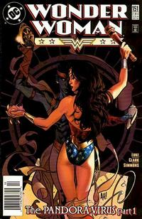 Cover Thumbnail for Wonder Woman (DC, 1987 series) #151 [Newsstand]