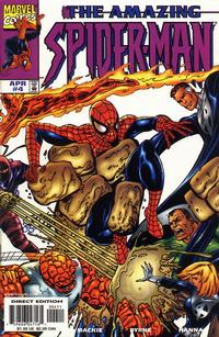 Cover Thumbnail for The Amazing Spider-Man (Marvel, 1999 series) #4 [Direct Edition]