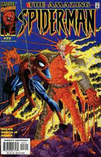 Cover Thumbnail for The Amazing Spider-Man (Marvel, 1999 series) #23 [Direct Edition]