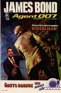 Cover Thumbnail for James Bond (Semic, 1965 series) #36/[1975]