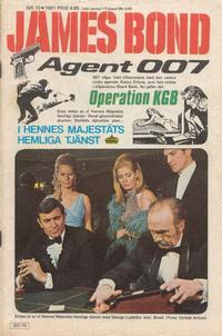 Cover Thumbnail for James Bond (Semic, 1965 series) #70/1981