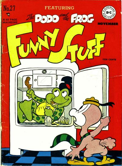 Cover for Funny Stuff (1944 series) #27