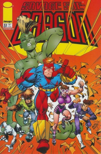 Cover for Savage Dragon (Image, 1993 series) #53