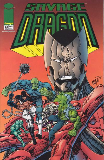Cover for Savage Dragon (Image, 1993 series) #63