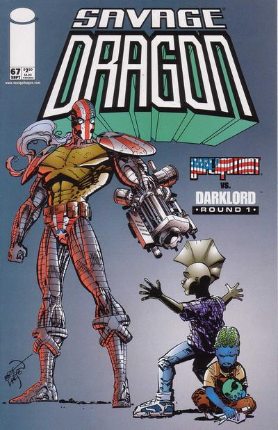 Cover for Savage Dragon (Image, 1993 series) #67