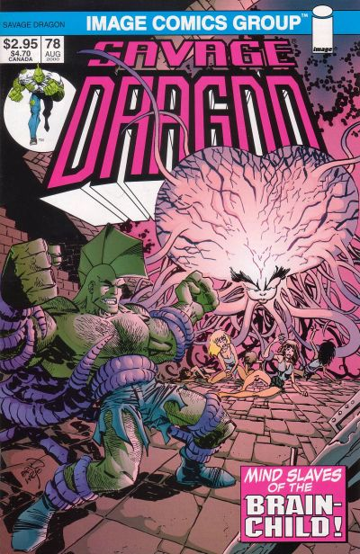Cover for Savage Dragon (Image, 1993 series) #78