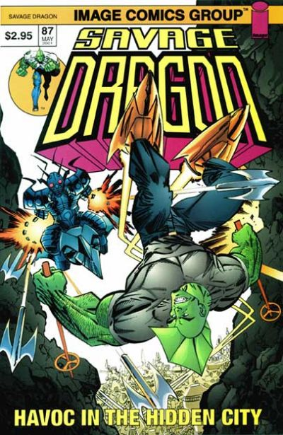Cover for Savage Dragon (Image, 1993 series) #87