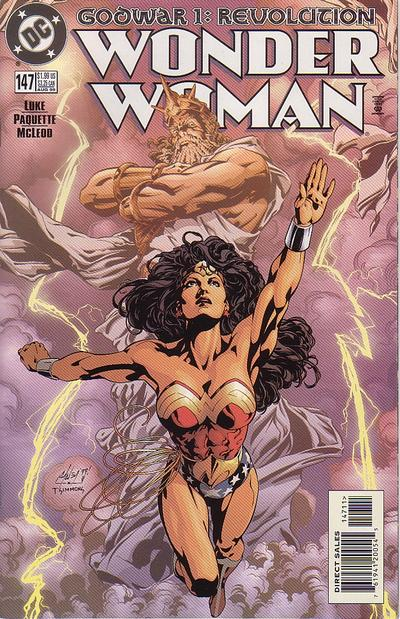 Cover for Wonder Woman (DC, 1987 series) #147