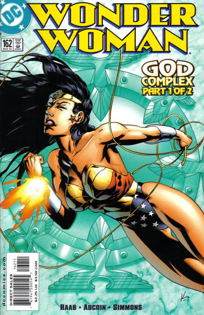 Cover for Wonder Woman (DC, 1987 series) #162