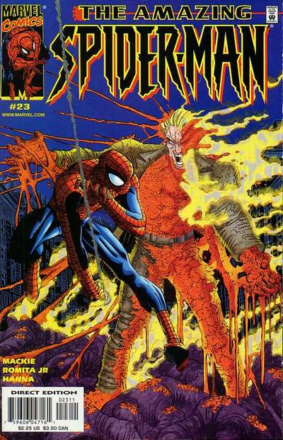 Cover for The Amazing Spider-Man (1999 series) #23
