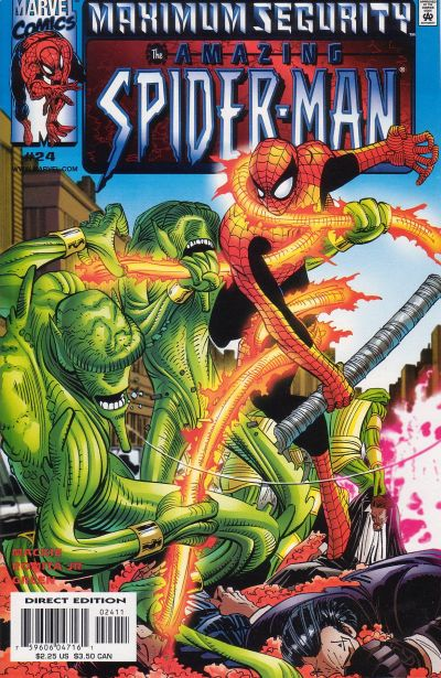 Cover for The Amazing Spider-Man (1999 series) #24