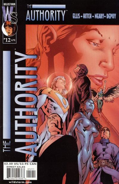 Cover for The Authority (1999 series) #12