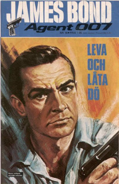 Cover for James Bond (1965 series) #16/[1971]