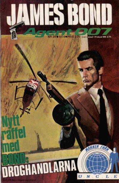 Cover for James Bond (1965 series) #29/1974
