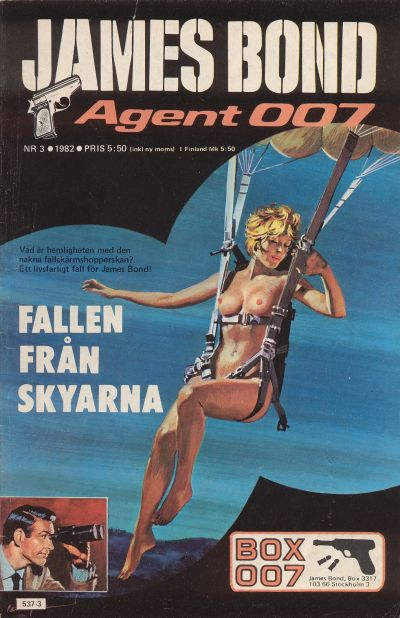 Cover for James Bond (1965 series) #3/1982